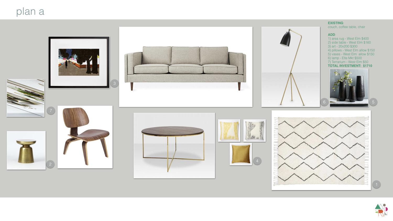 Design Love: Quick & Easy Living Room Make-Over — Modern Staging ...