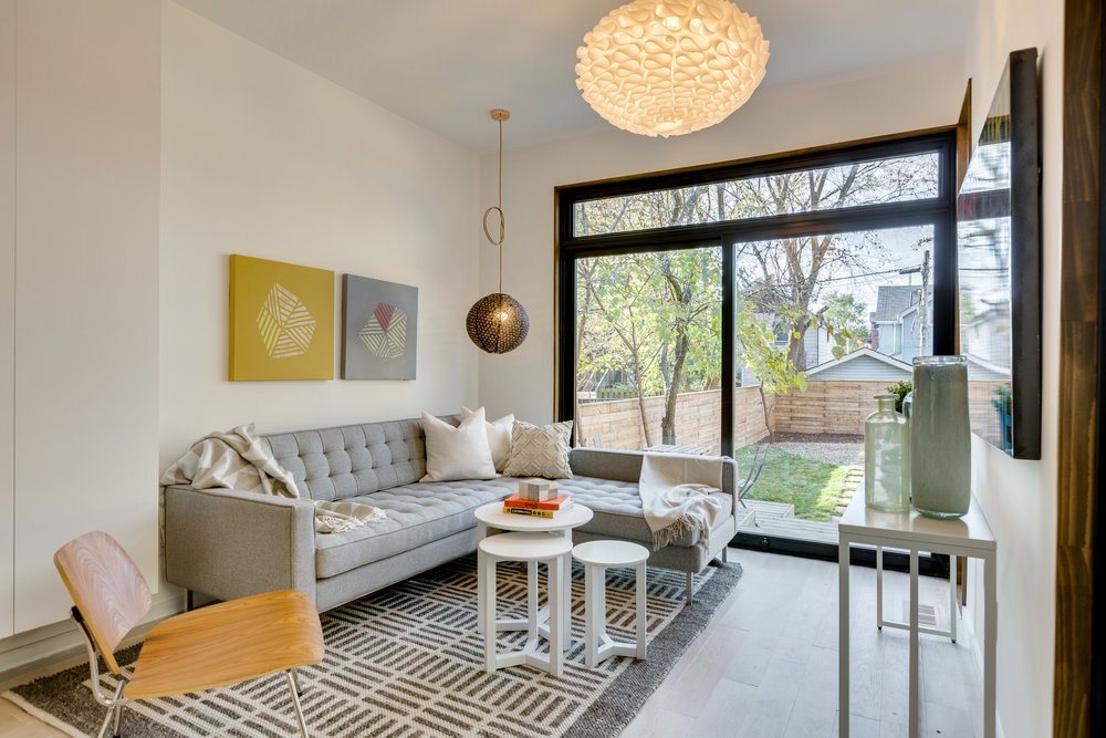 Entertainment Space - Toronto Home Staging