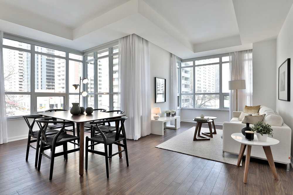 Condo Staging - Sherbourne