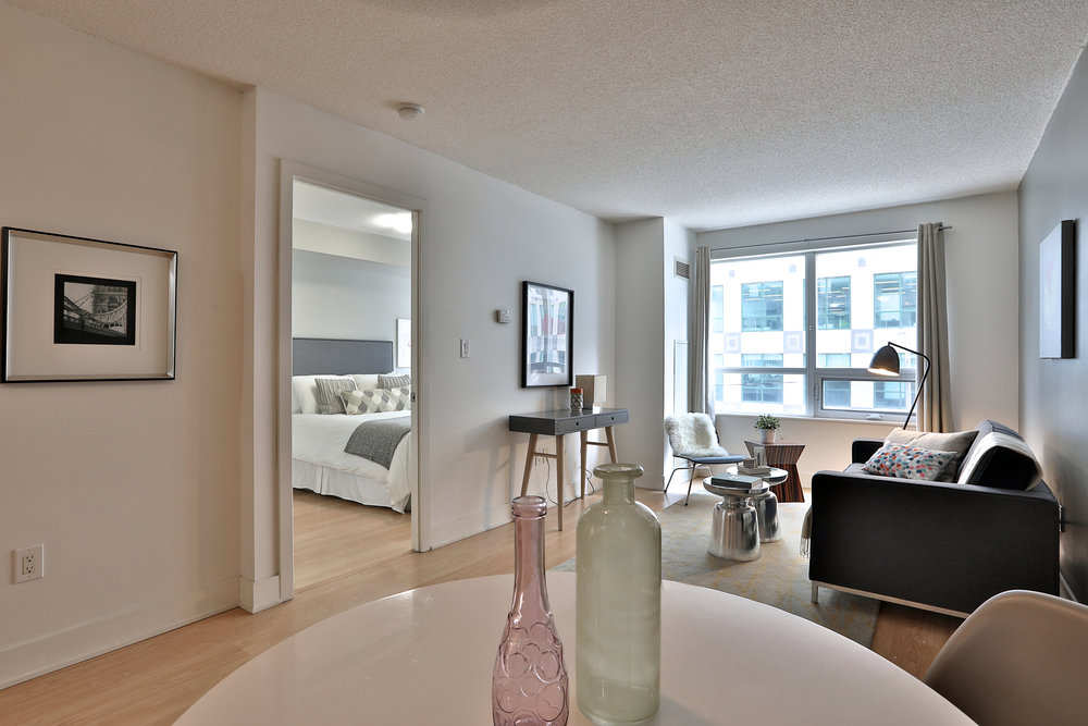 Condo Staging - Blue Jays Way