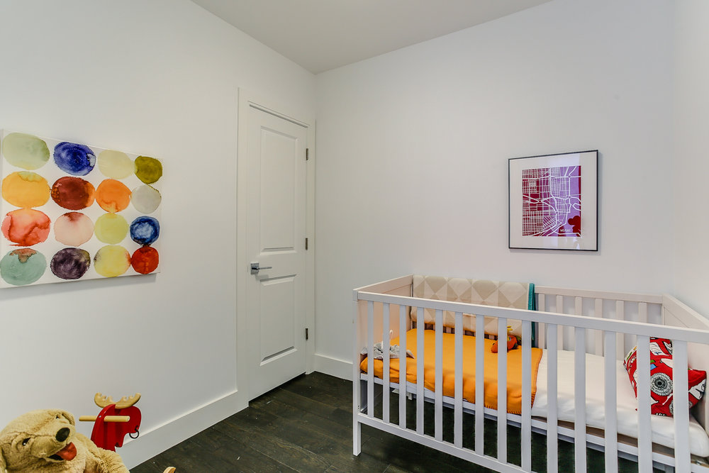 New Home Staging - Nursery