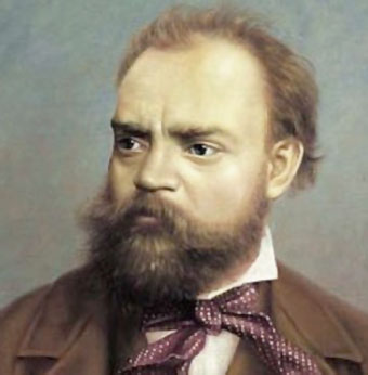 A young and dapper Dvorak