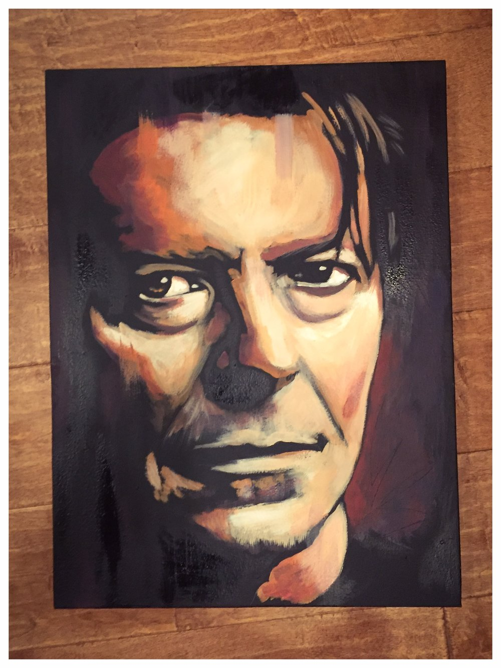 Bowie Acrylic on Canvas