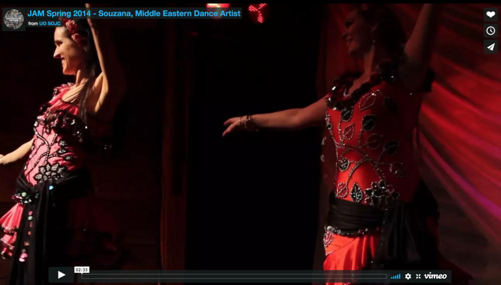 Belly Dancer Souzana: Susan Chapa's Inner Isis