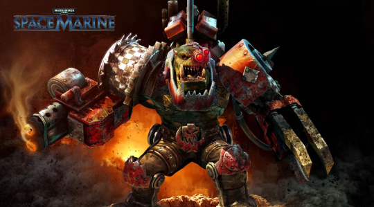 Warhammer Space Marine: In-Engine Animation