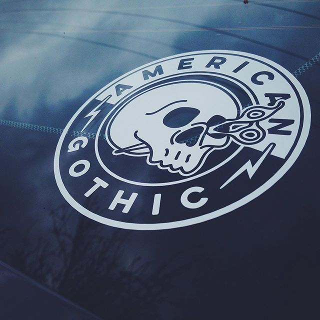 Part of a recent branding project for stylist, @american_gothic.