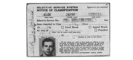 A Counterfeit ID found in Oswald's wallet. (photo: Warren Commission Report)