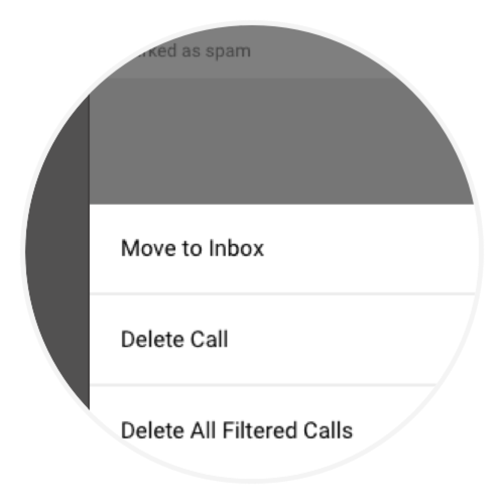 Nomorobo Connection - Whitelist and delete spam calls