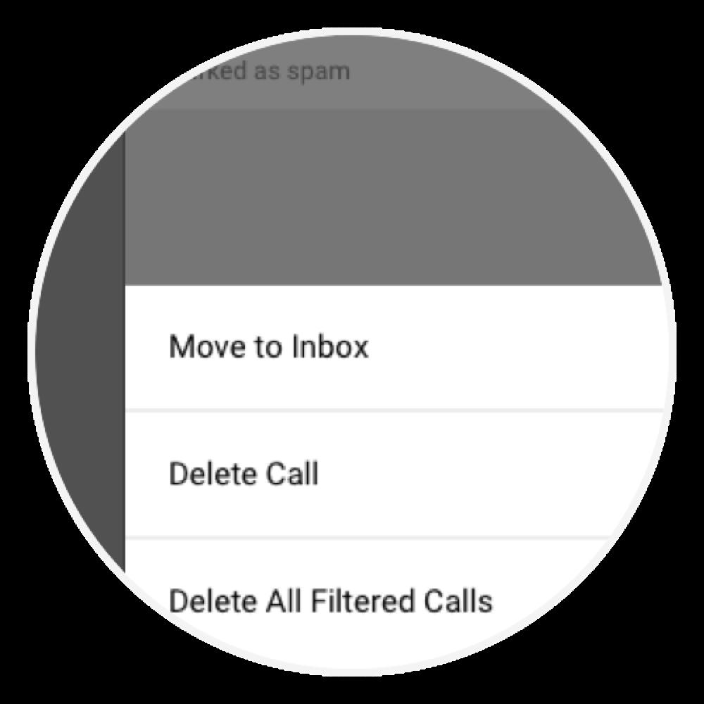 Nomorobo Connection - Whitelist and delete spam calls