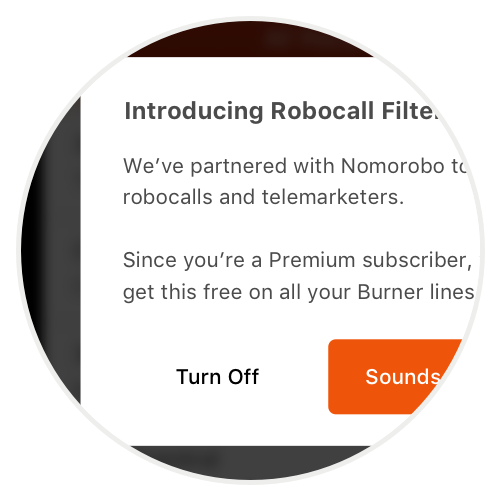 Nomorobo Connection - Robocall spam and telemarketer filtering