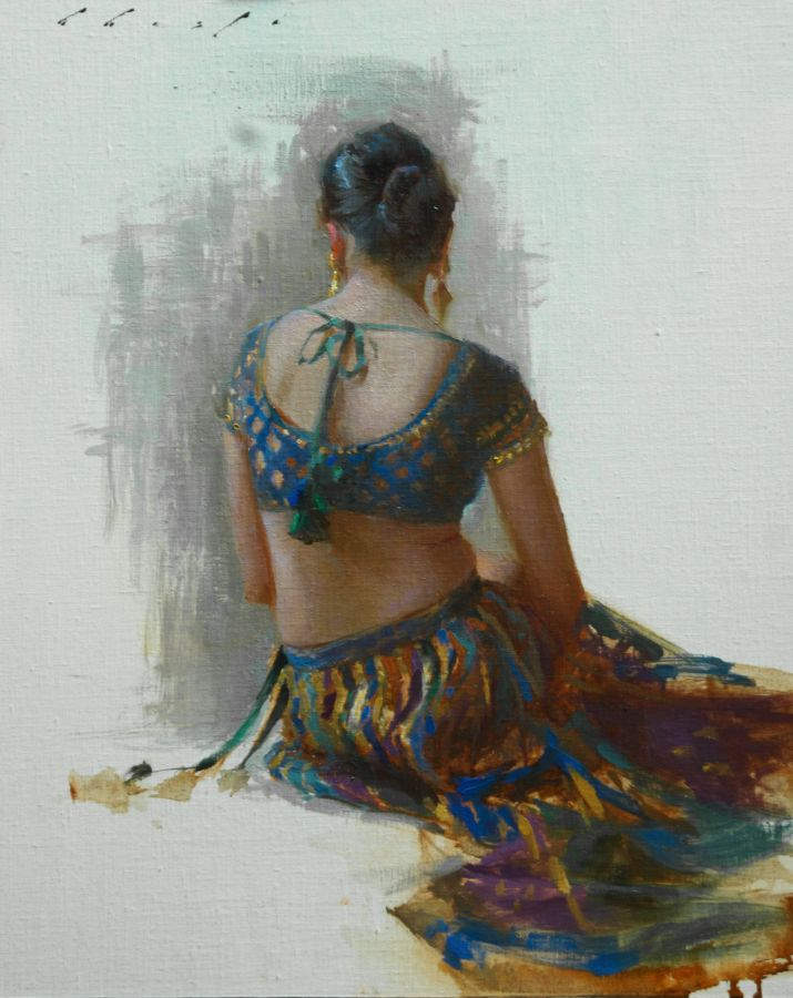 """Choli""    16 x 20 inches"