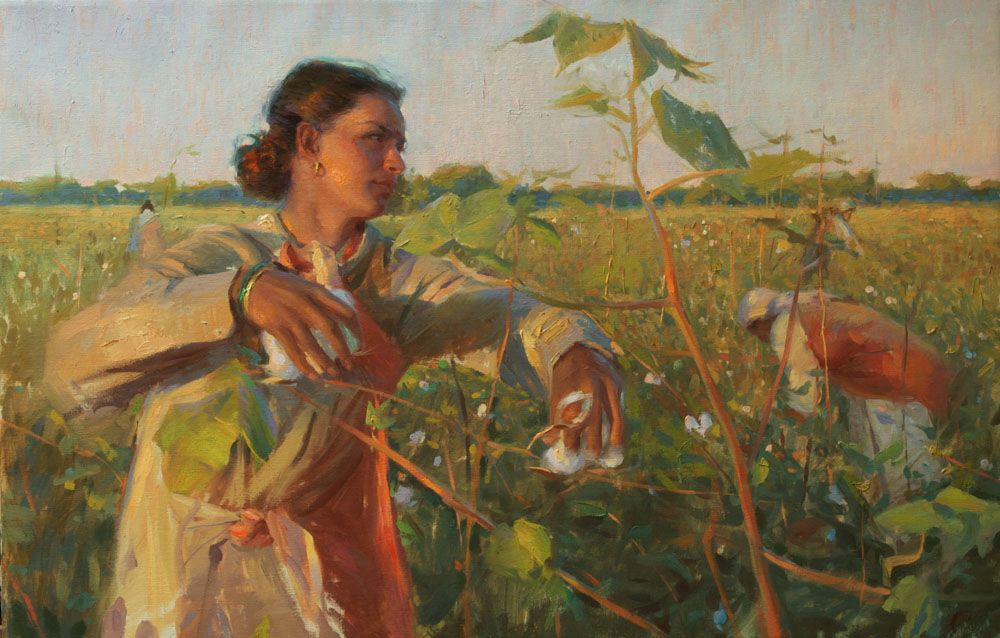 """Cotton Pickers of India"""