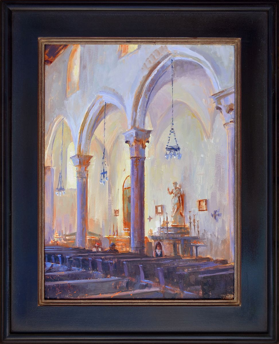 """Arches of Duomo II""    18 x 24 inches"