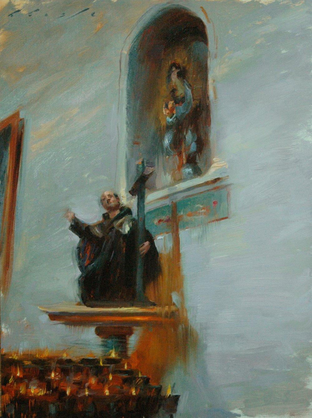 Saint and Alcove 12x16