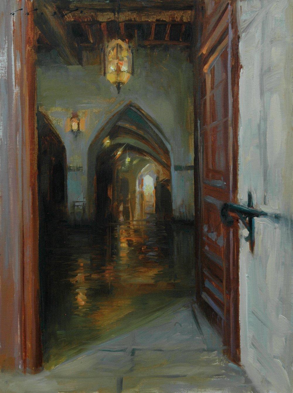 "Luminous Entrance 12x16"""