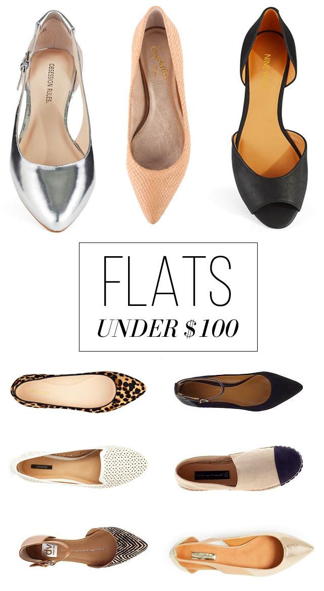 Flats Under $100