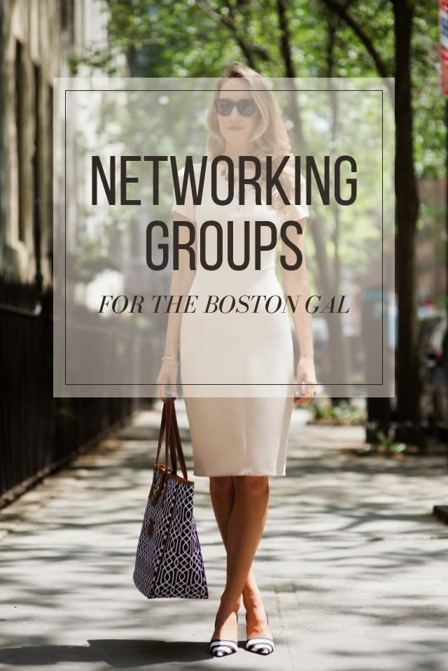 Networking groups in Boston for women