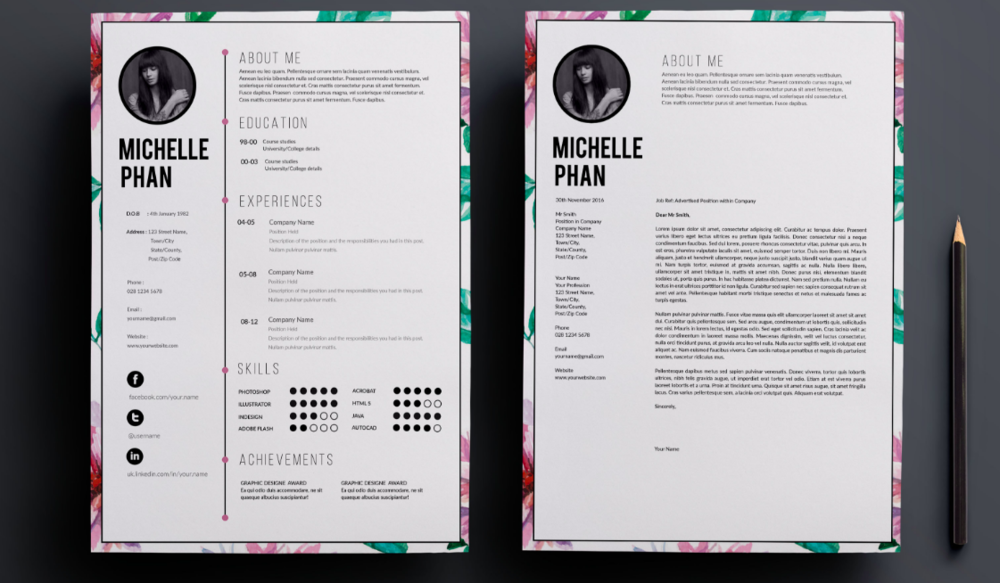 3 Resources To Help You Create A Beautiful Resume Just Us Gals