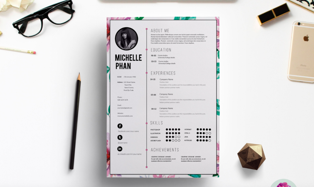 3 Resources To Help You Create A Beautiful Resume