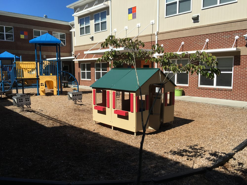 BEFORE - A typical playground.