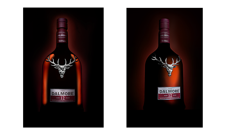 Dalmore Scotch Whiskey Hero Shots