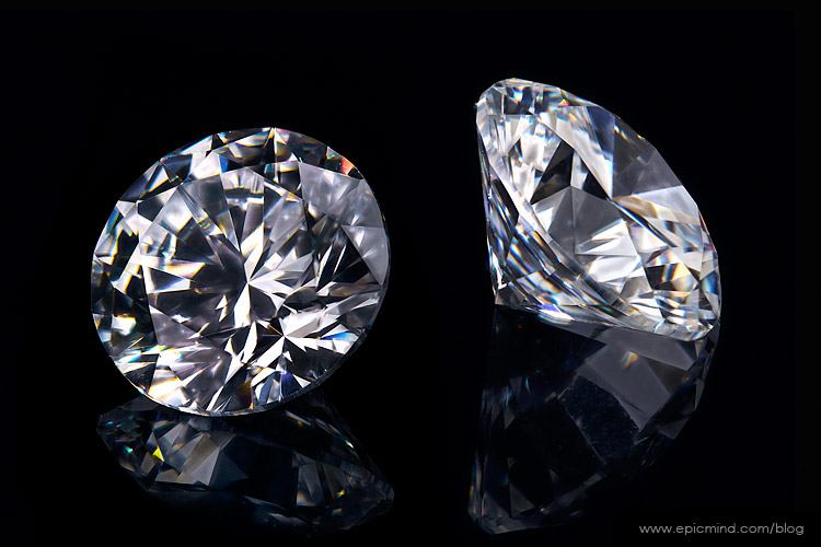 Photographing a Diamond on a Black Background: Capturing ...