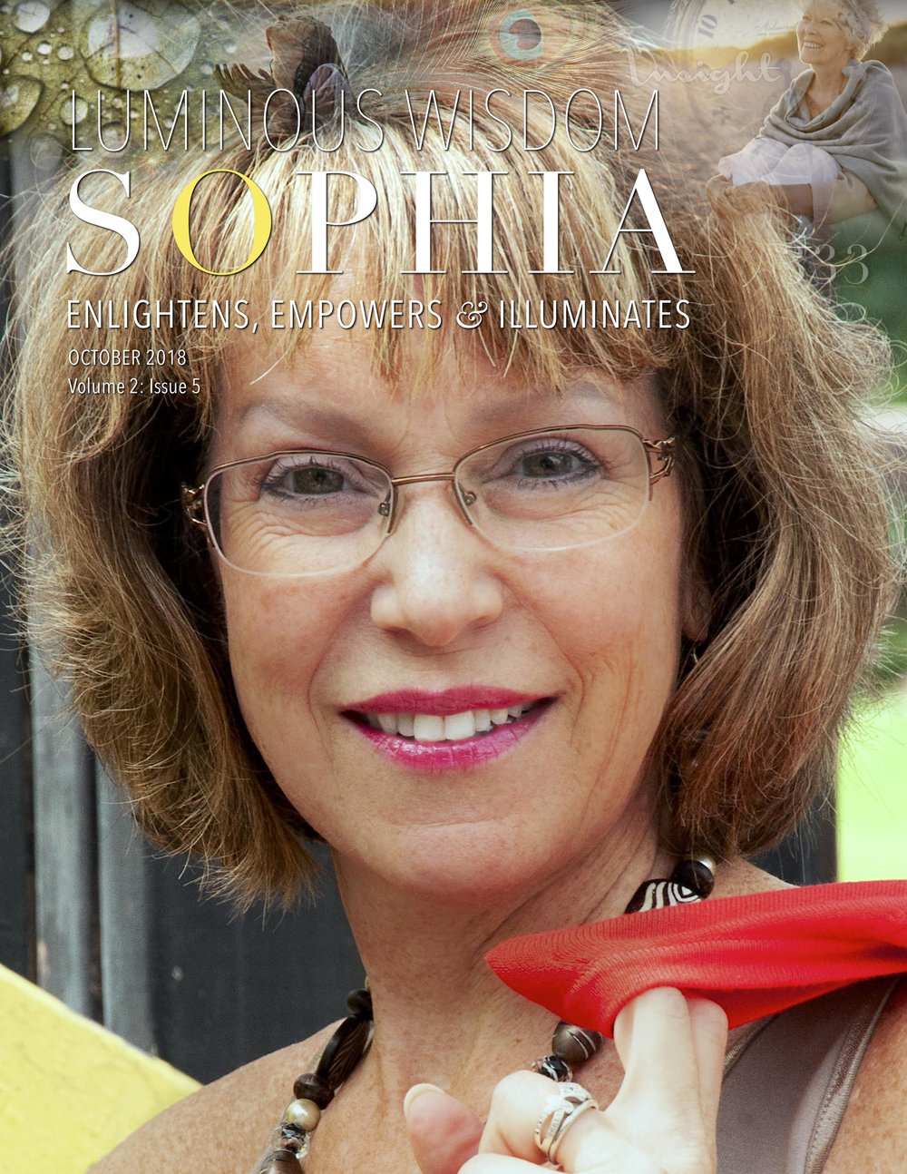 Me, on the cover Luminous Wisdom | Sophia. :) - 70,000+ readers