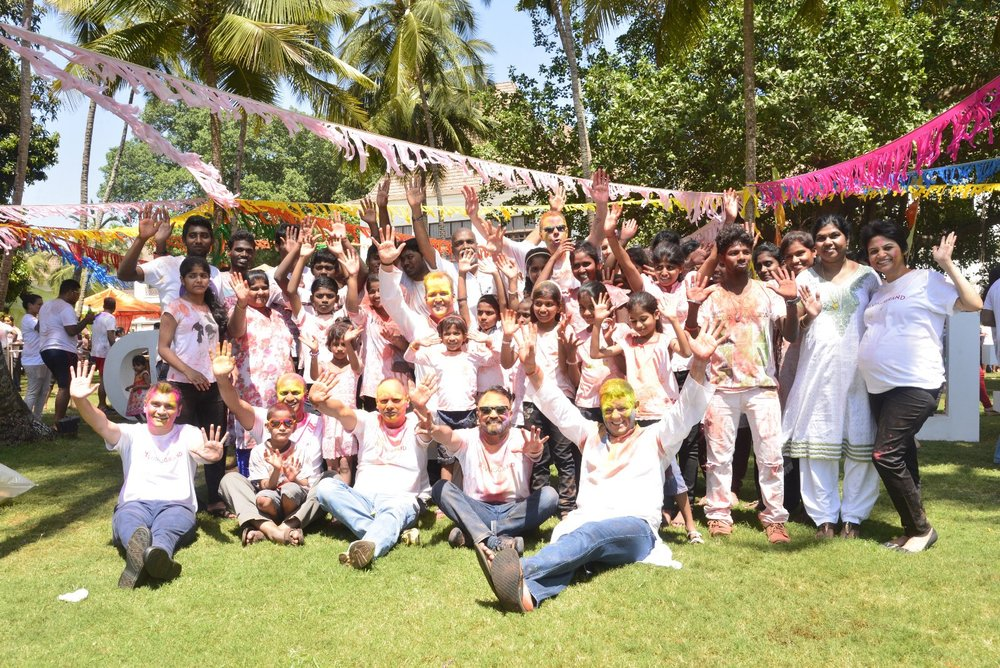 Holi Celebration at Grand Hyatt Goa.JPG