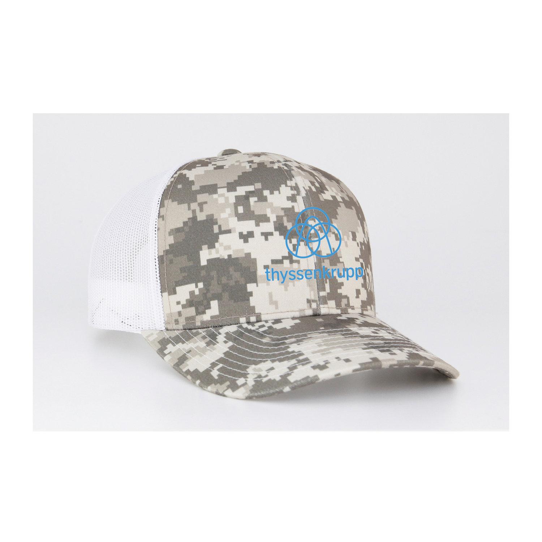 Pacific Headwear - Camo Trucker Snapback. 108C. — thyssenkrupp ... 325c4539a2d