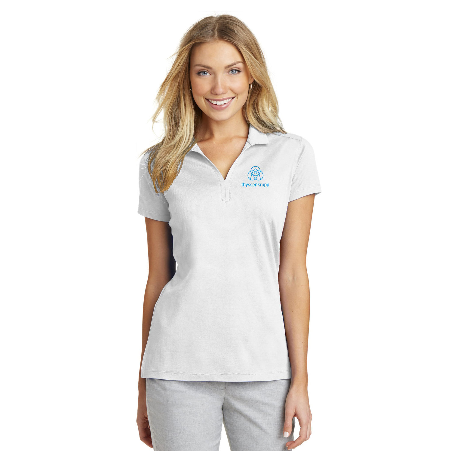 d7a519e9409 Port Authority® Ladies Rapid Dry™ Mesh Polo
