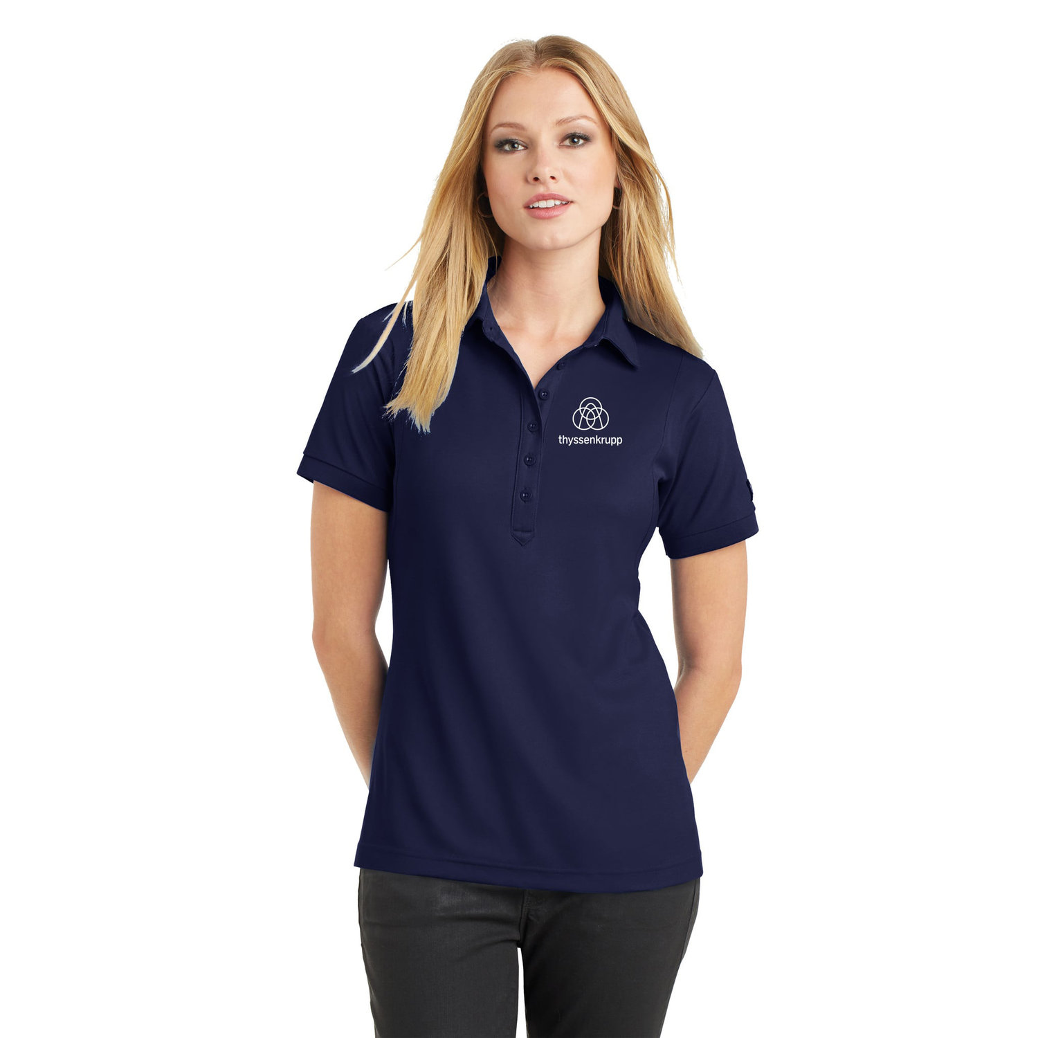 Ogio Ladies Cut Moisture Wicking Polo Shirt With Contoured Fit