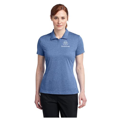 Nike Golf Ladies Dri Fit Heather Polo 474455 Thyssenkrupp