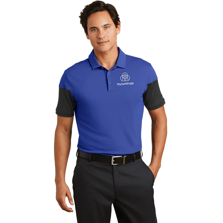 Nike Golf Dri Fit Sleeve Colorblock Modern Fit Polo 779802