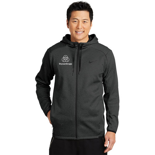 58ccf0f7b Outerwear. Outerwear Nike Therma-FIT Textured Fleece Full-Zip Hoodie.