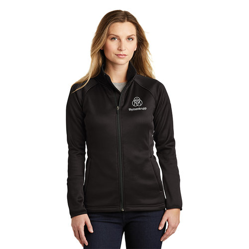 ed7d2e5961c9 The North Face® Ladies Canyon Flats Stretch Fleece Jacket. NF0A3LHA. 1.jpg