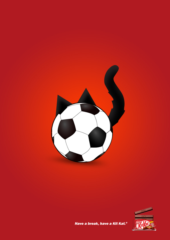 A cat interrupts a Liverpool soccer game by running through the field during the match