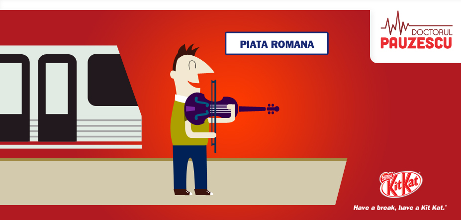 For the Days of Bucharest, various singers will perform at subway stations