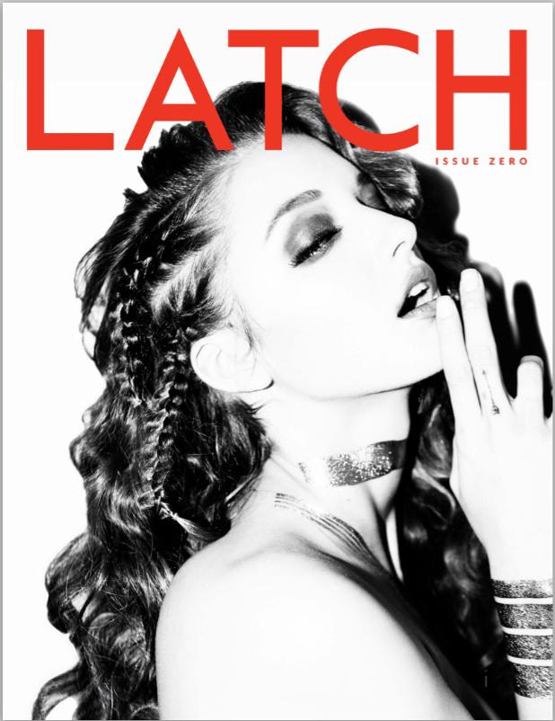 "Latch Magazine cover shoot: ""Alyssa"" (Issue Zero)"