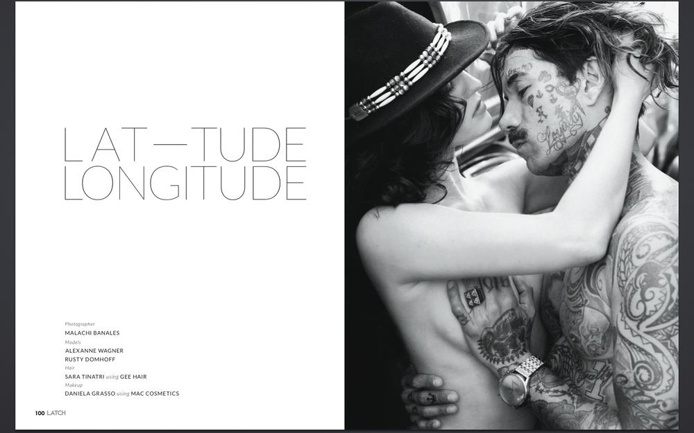 """Latch Magazine: """"Latitude Longitude"""" (Issue 2)"""