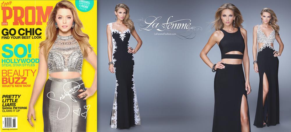 "Teen Prom Magazine 2015 : ""La Femme"""
