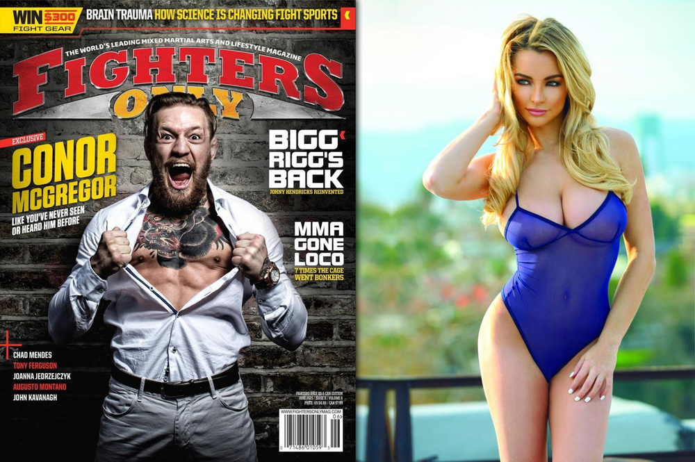 Fighters Only Magazine (Issue 129): Lindsey Pelas