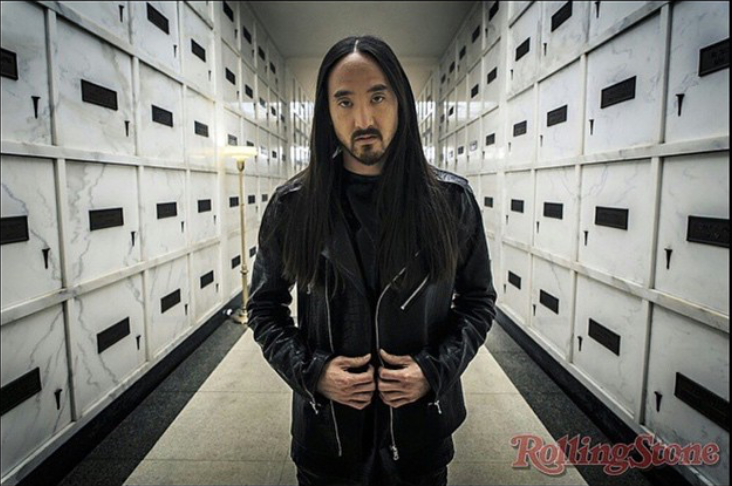 """Darker Than Blood"" music video w/ Steve Aoki as featured in Rolling Stone Magazine"
