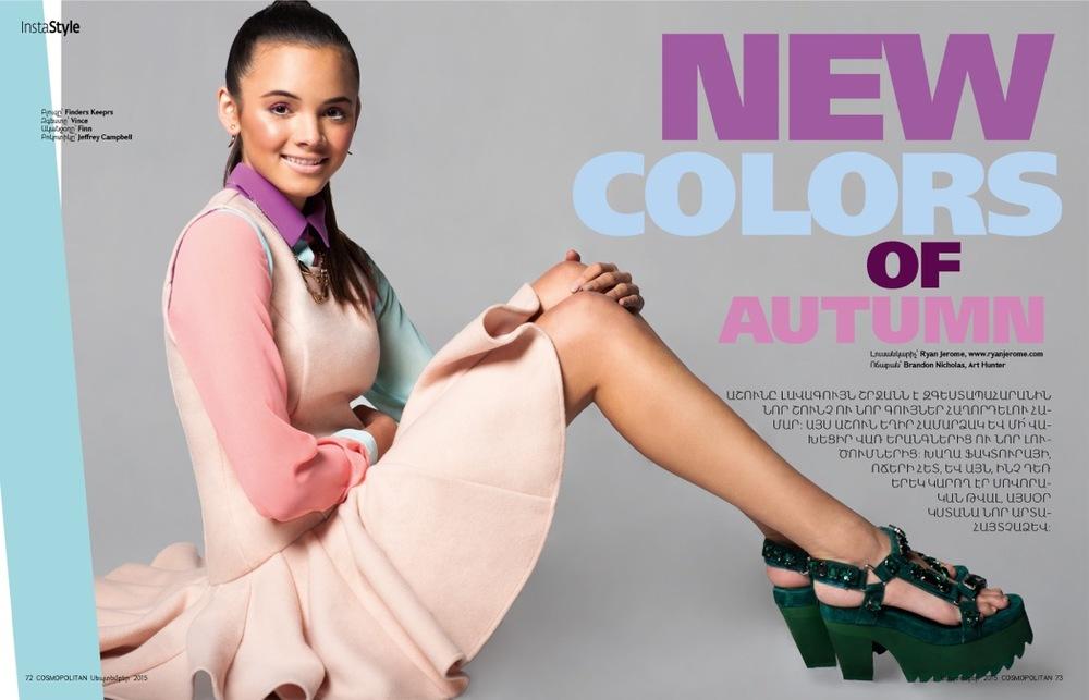 "Cosmopolitan Armenia: ""New Colors Of Autumn"""