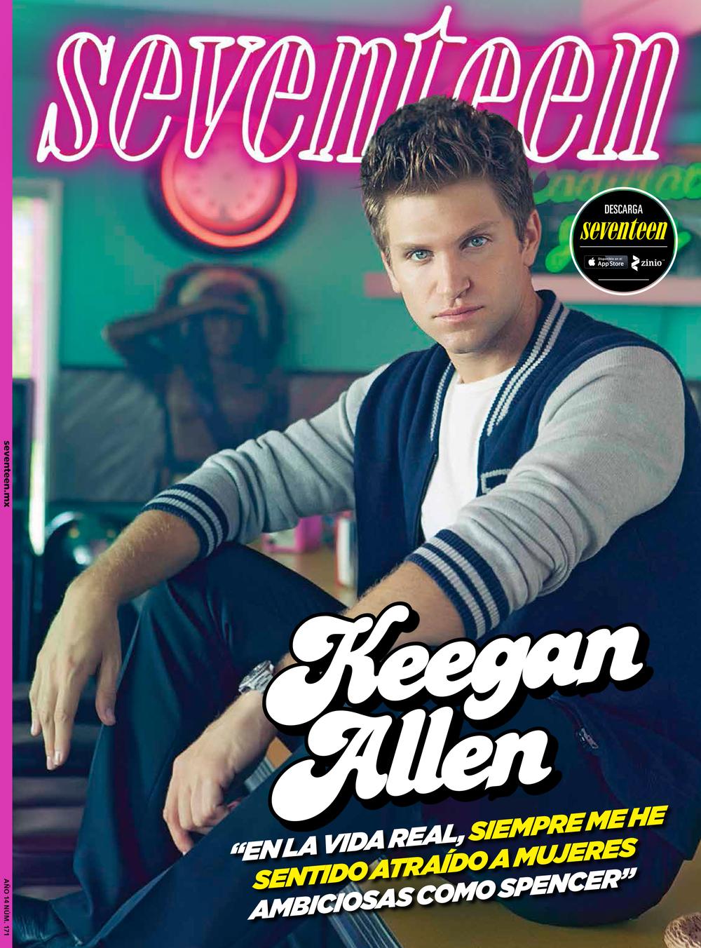 Seventeen Latin:  December cover issue