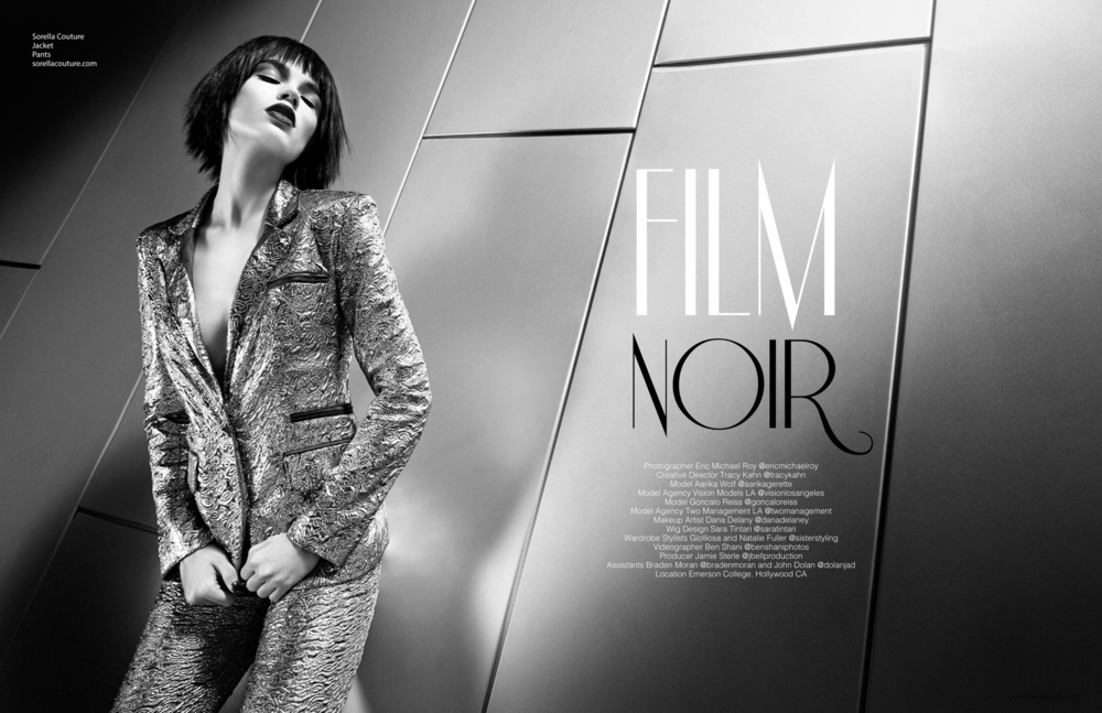 "LEFAIR MAGAZINE: ""FILM NOIR"""