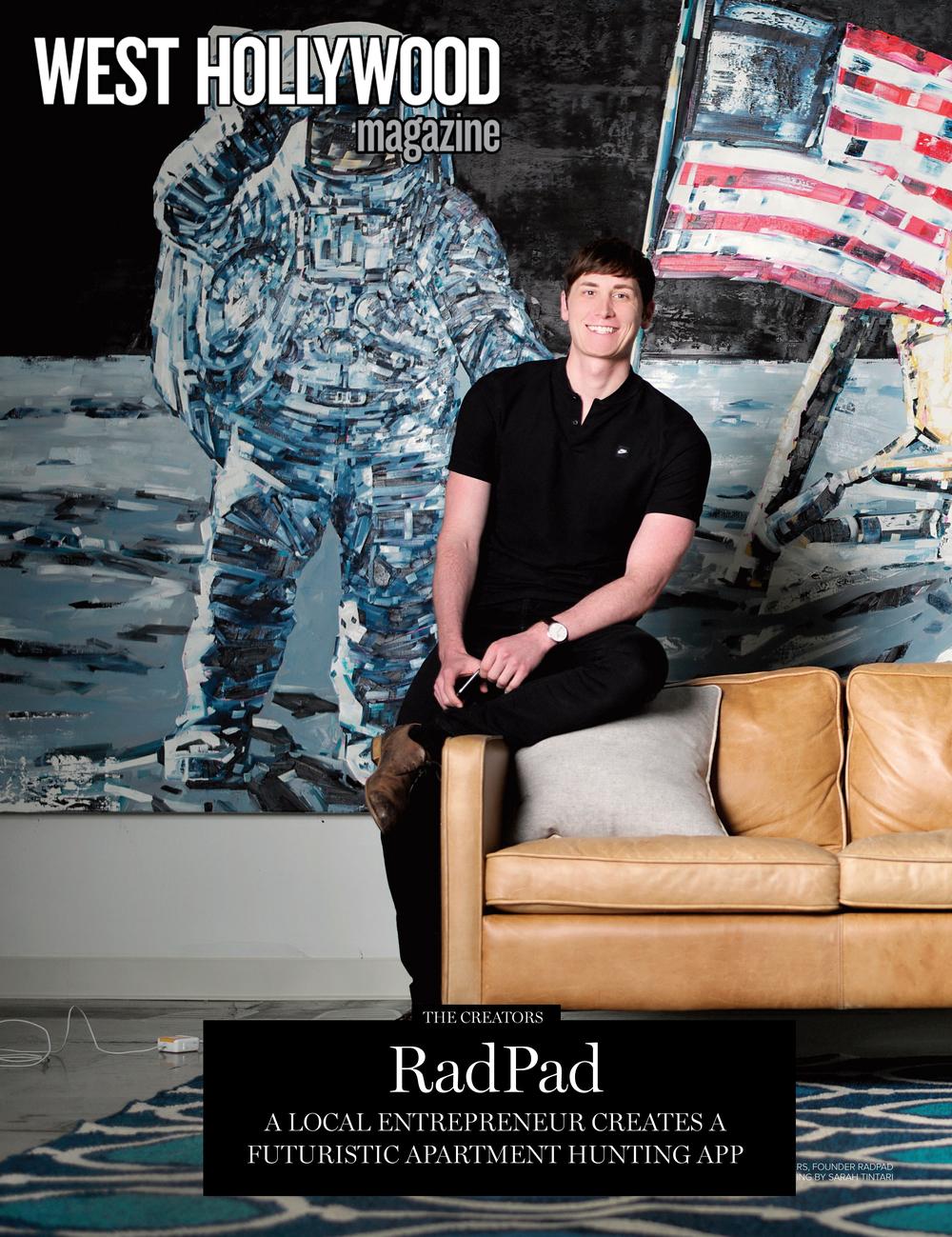 "West Hollywood Magazine Summer 2016: ""Radpad"""