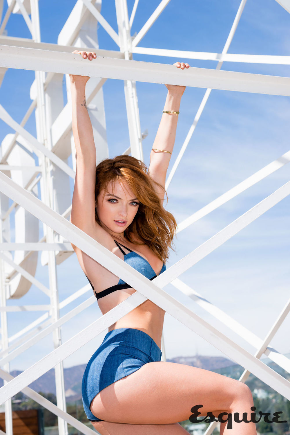 Esquire Magazine interview with Francesca Eastwood
