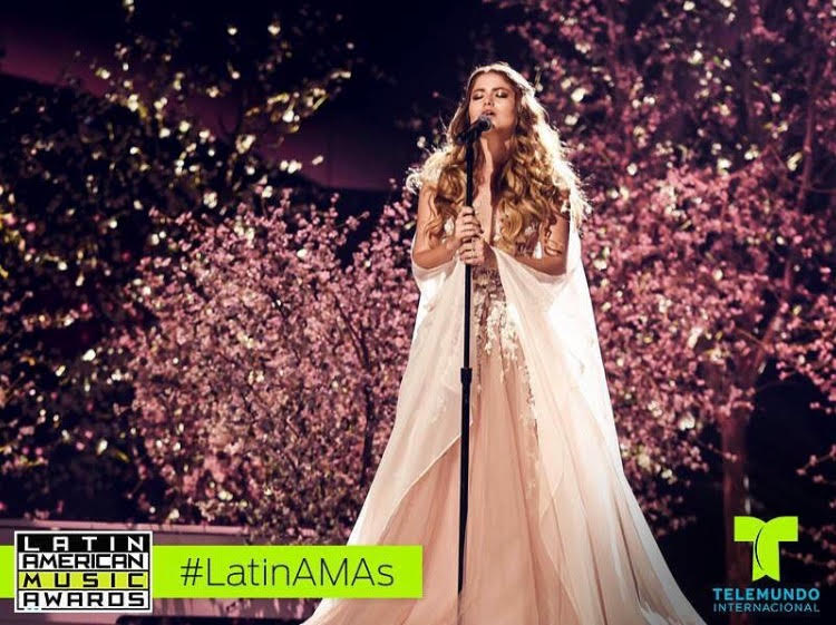 Sofia Reyes for Latin American Music Awards