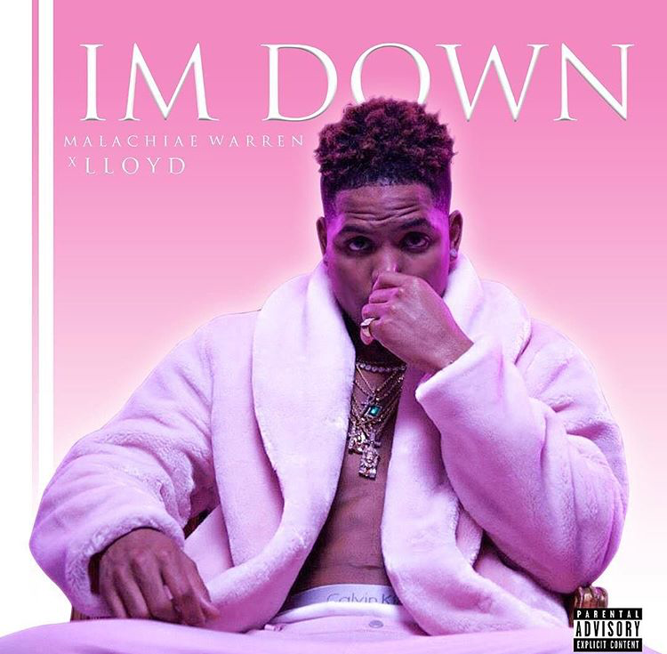 Malachiae Warren - I'm Down ft. Lloyd (Music Video & Photo Shoot)