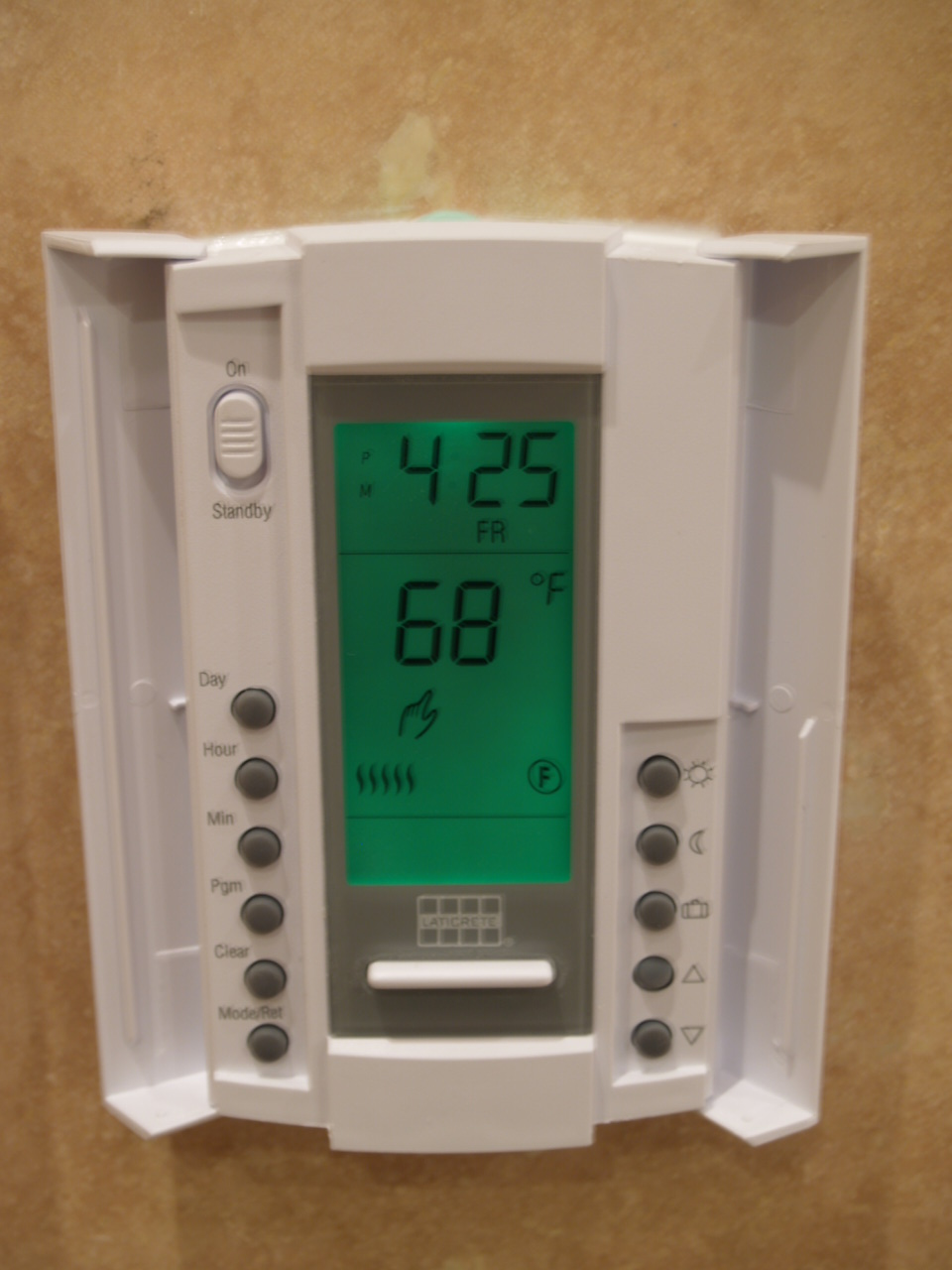 C.Kattar. Radiant floor thermostat.JPG